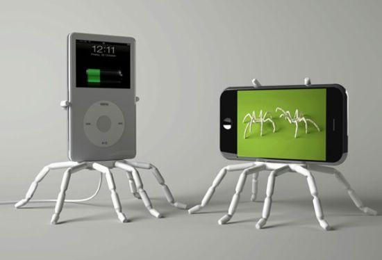 Spiderpodium-iPhone-Stand