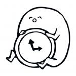 『ホモォ時計』アラーム音はホモォの鳴き声! ホモォの生態がよく分かる時計&アラームアプリが登場
