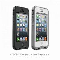 【日本正規代理店品・保証付】【LIFEPROOF】nuud case for iPhone5用ケース アイフォン5 ヌード ブラック 1307-03