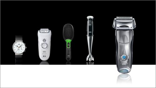 8375304403 ブラウンと聞くと私達に馴染み深いのは髭剃りですが、実は小型電気器具メーカーとして、時計などの小型電気製品も販売しているんです。