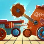 物理エンジンで予想外の動きw 相手のマシンを潰し合う「バトルマシン製作ゲーム」これは良ゲーだ