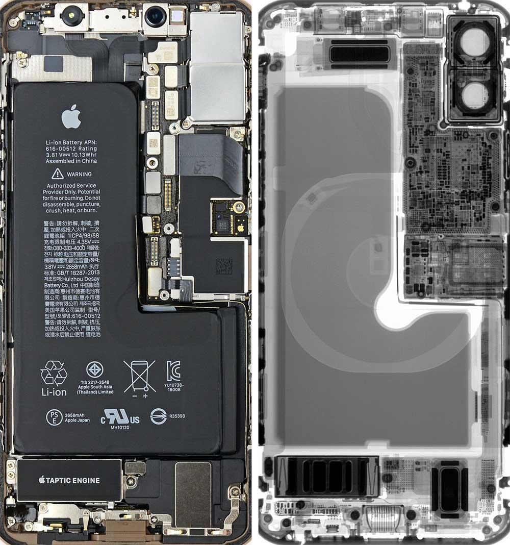 Iphone Xs Xs Maxのスケルトン壁紙 2018年も公開されたよ カミアプ